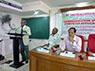 Prof. Y.C. Simhadri Vice-Chancellor%2c Patna University� Chief Guest valedictory function